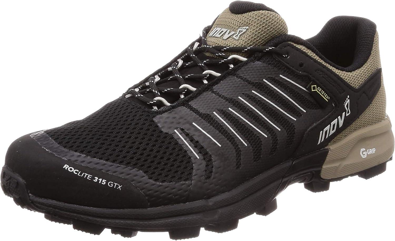 Inov-8 Men's Roclite 315 GTX Waterproof Lightweight Gore-Tex Trail Running Shoes
