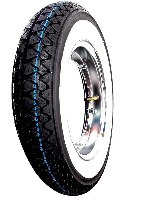 1 Rueda completa Montada para Vespa 50 Pk S con color 1 aro, 1 neumático