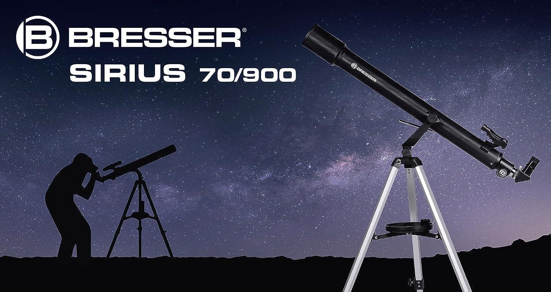 Bresser refraktor einsteiger teleskop sirius amazon kamera