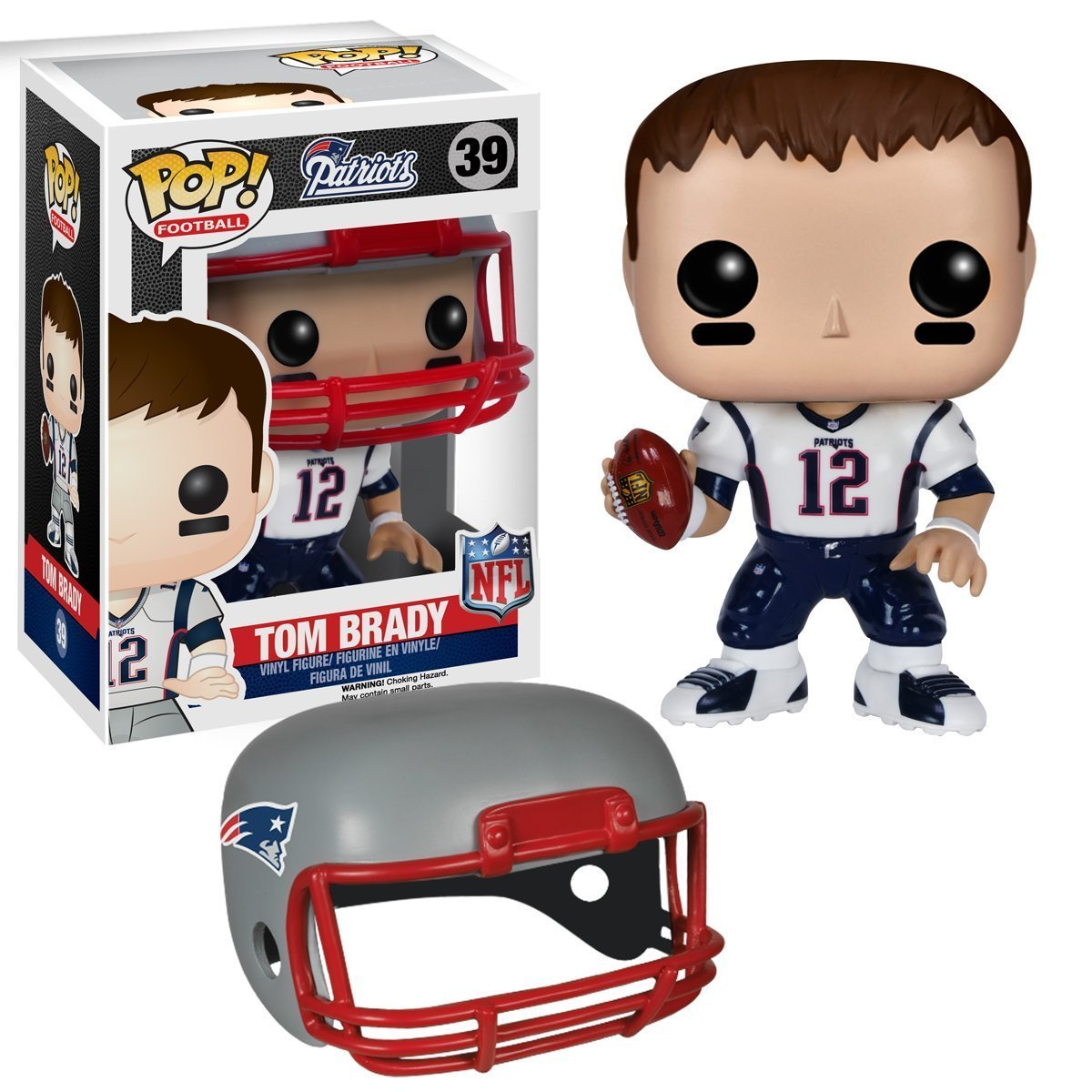 NFL Wave 2 Funko POP Vinyl Figure: Tom Brady 7565