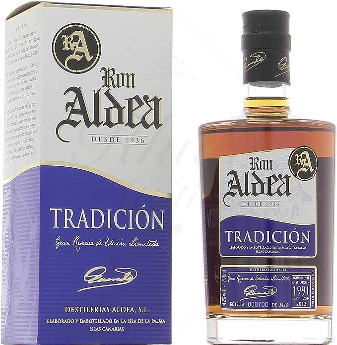 Ron Aldea TRADICIÓN Gran Reserva de Edición Limitada 43 ...