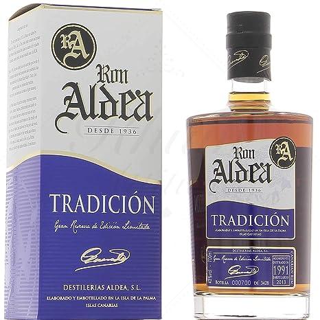 Ron Aldea Tradición 1994-700 ml: Amazon.es: Alimentación y ...