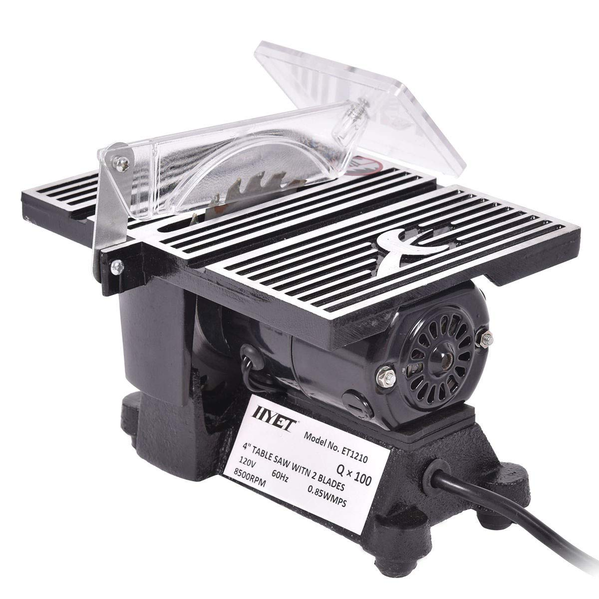 4'' Mini Electric Table Saw Tablesaw 8500 RPM Hobby And Craft Power Tools