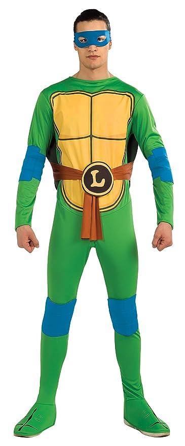 Rubies-official disfraz - Ninja Turtle TMNT- Disfraz Leonardo Turtle Ninja TMNT - Talla