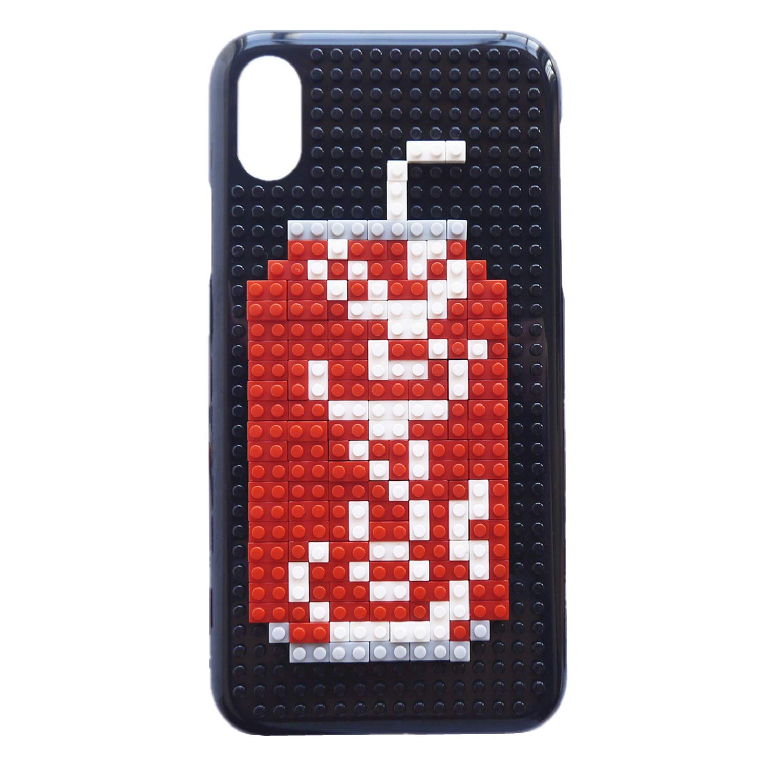 best service 13ea6 32d0b iPhone Xs Case, iPhone X Case, DMaos Cute Cartoon 3D DIY Mini Building  Blocks Toy for Boys and Girls Creative Ability, Cool for iPhone 10s/10 5.8  Inch ...