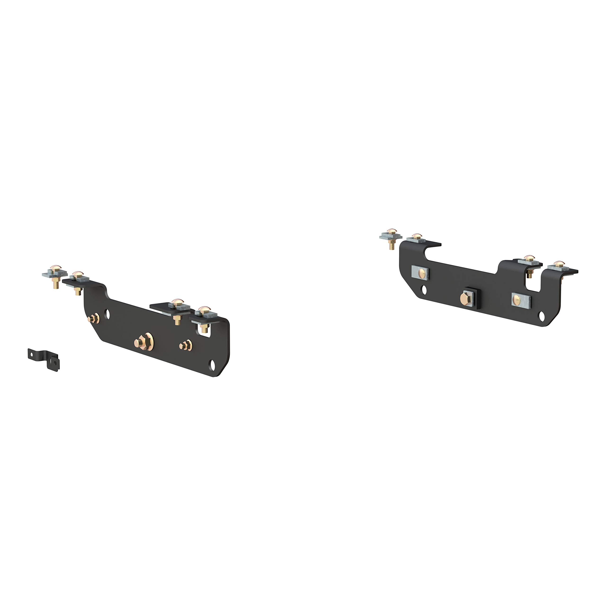CURT 16424 Black 5th Wheel Hitch Installation Brackets for Select Ford F-250, F-350, F-450 Super Duty by CURT