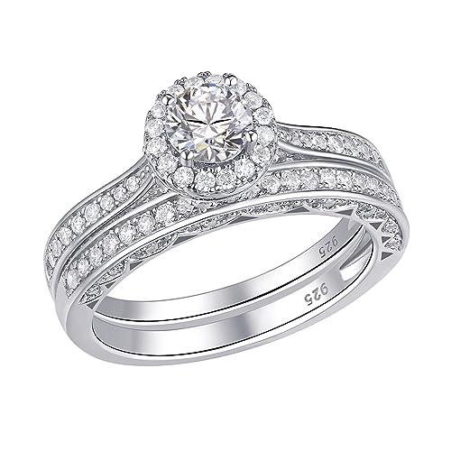 Newshe Jewellery 925S plata circonita