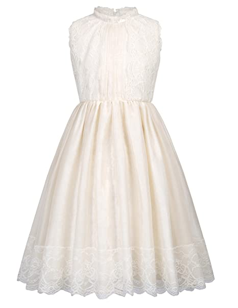 Girls Lace Princess Wedding Dresses for Toddler and Baby Girl 2-3yrs CL998-1