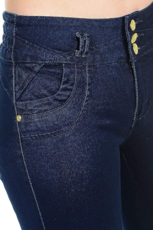 Amazon.com: M. Michel Jeans de la mujer diseño, Butt Lift ...