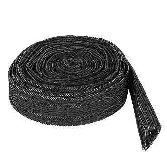 Cubierta protectora nylon manga manguera de 7,5 m Cubierta del cable de la antorcha