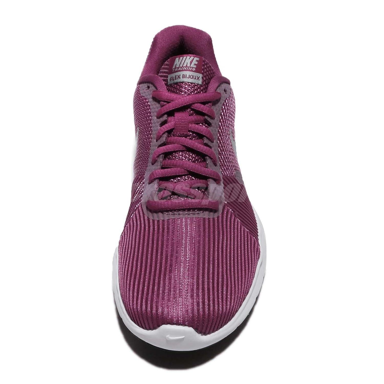 Wmns Nike Flex Bijoux Tea Berry Metallic Silver Women Training Shoes  881863-601  Amazon.in  Shoes   Handbags c85b4e4cf17