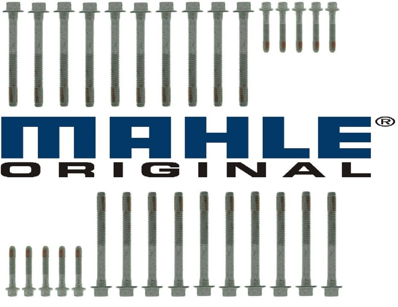 Mahle Original Head Gasket Set /& New Bolts compatible with 2002-2007 Chevy GMC TRUCKS 6.0 6.0L LQ4 VORTEC VINU orN Formerly Victor Reinz