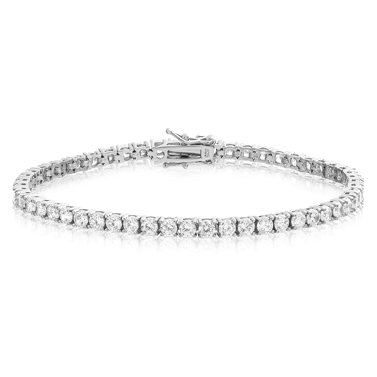 round sterling cut zoom diamond bracelet ct tw hover kaystore bangle kay mv to bangles en zm silver