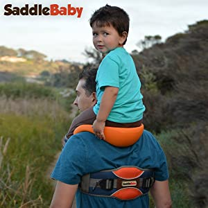SaddleBaby Shoulder Carrier