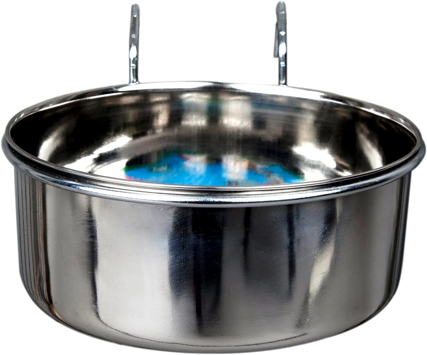 Advance Pet Products Stainless Steel Coop Cups with Hook, 96-Ounce