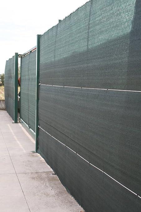3 opinioni per Tessuto rete ombreggiante frangivista cop.90% minirotolo h 2x10 mt