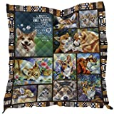 YunTu 3D Printed Camp King Quilt Queen Quilts