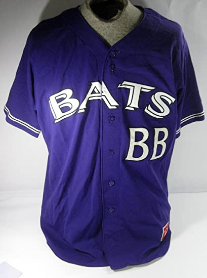 13373d8e5 Image Unavailable. Image not available for. Color  2015 Louisville Bats Bat  Boy  BB Game Used Alternate Purple Baseball ...