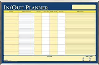 product image for House of Doolittle in/Out Laminated Aluminum Frame Planner 32 x 21.5 Inch with Write on/Wipe Off Feature, Recycled (HOD6660)