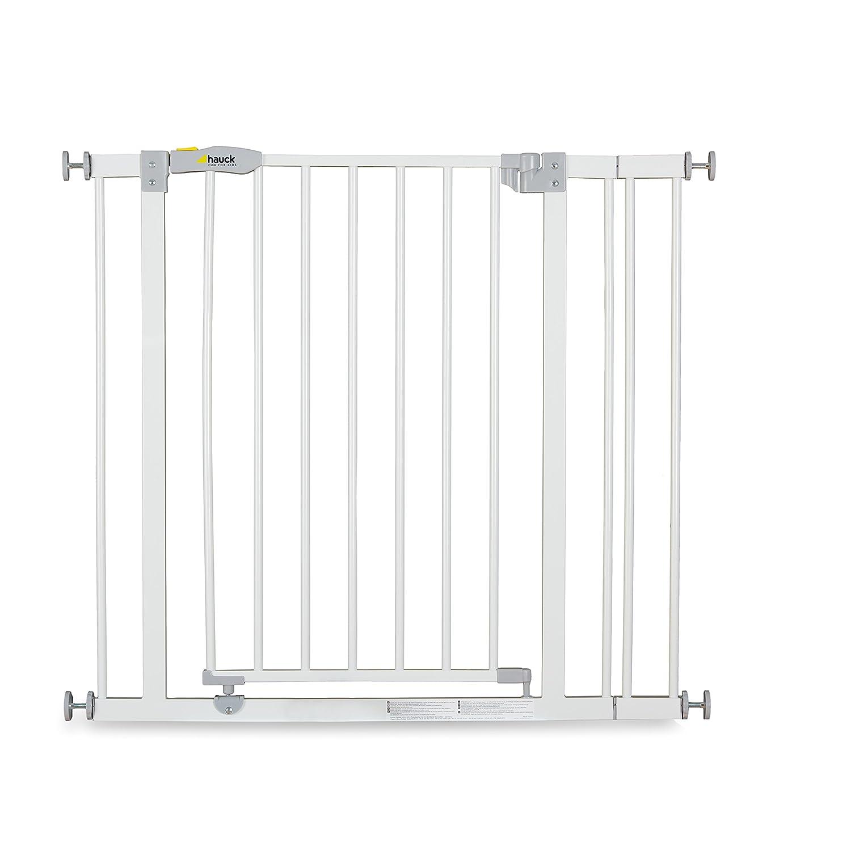 Hauck / Vis en Y / adaptateur pour rampe rondes / compatible avec barrière de sécurité Open N Stop et Close N Stop / fixation sans perçage / utilisable sur les deux côtés / 2 pieces / argenta (silver) 596999