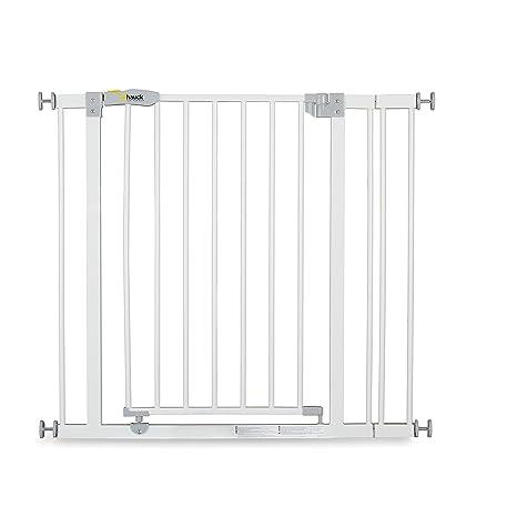 Hauck Open N Stop Treppenschutzgitter inklusive 9 cm Verlängerung/Türgitter/84-89 cm/ohne Bohren/kombinierbar mit Y-Spindel f
