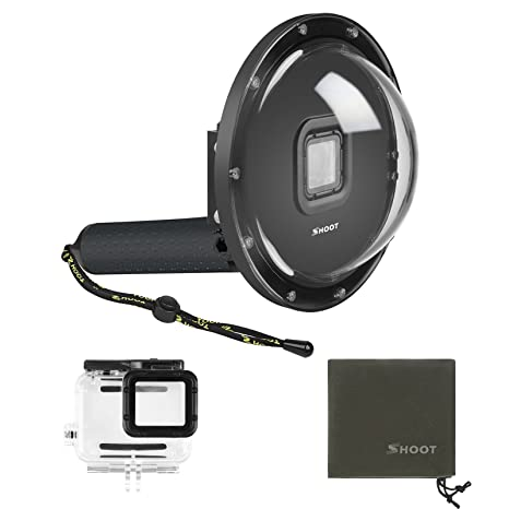 SHOOT Dome Port Must Have Accessories for GoPro Hero 7 Black Hero 6 Hero d95ed03a623b