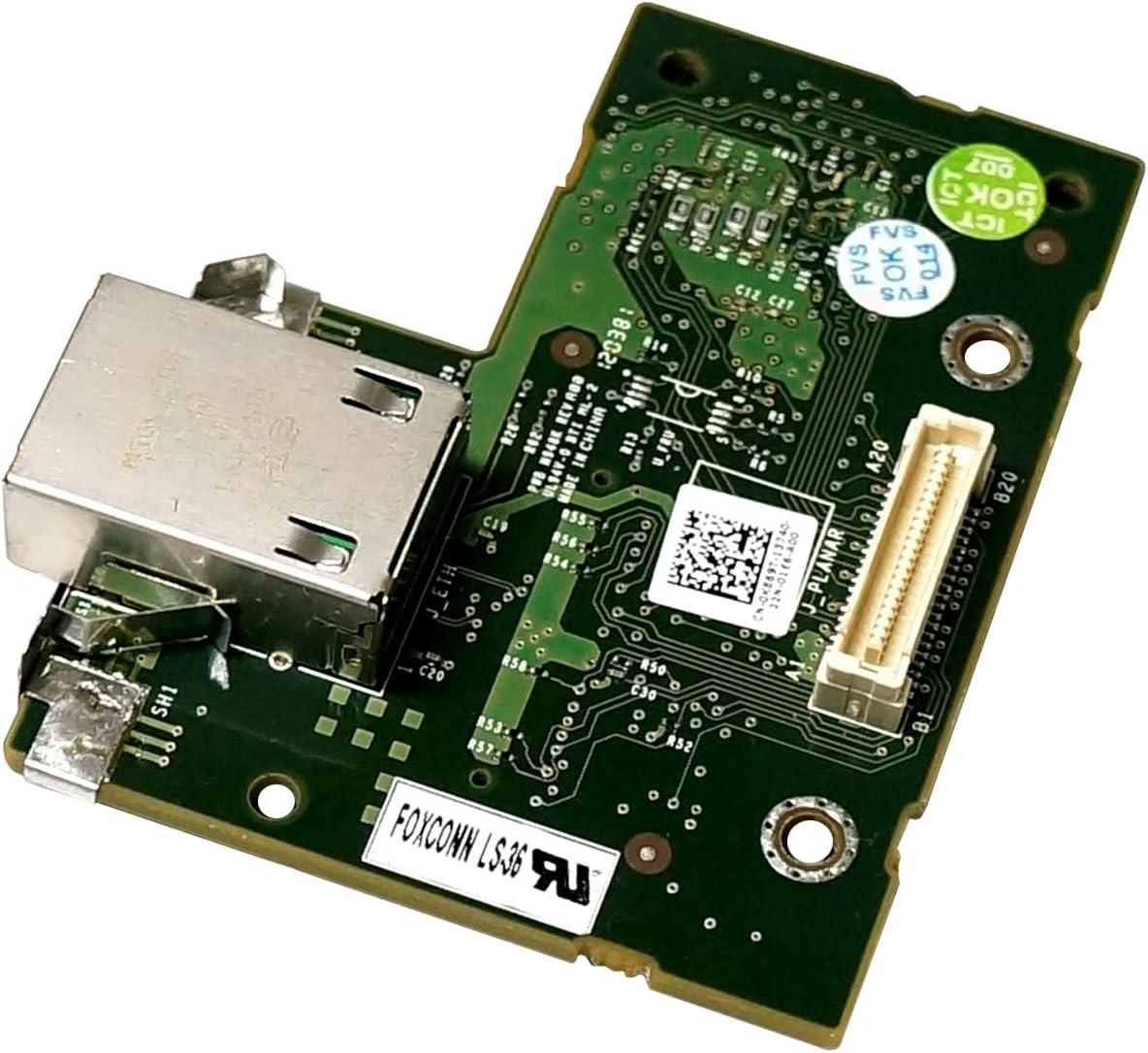 Dell iDRAC6 Enterprise Remote Access Card 0K869T J675T for R810//R710//R610//R410