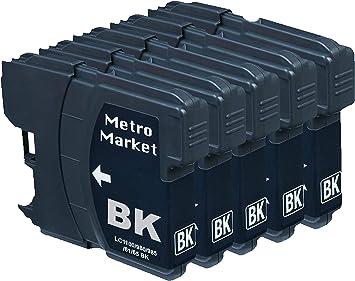 Metro Market 5 Piezas LC985 Cartuchos de Tinta Compatible ...