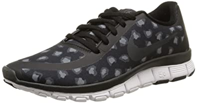 nike womens free 5.0 v4 ns print metallic labels