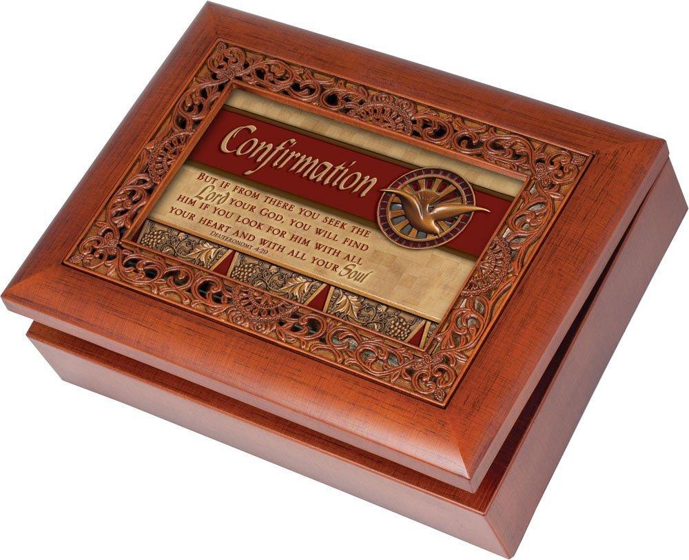 気質アップ [コテージ ガーデン]Cottage Garden Confirmation Ornate Woodgrain Music Box Garden Box/ OMB107S Jewelry Box Plays Amazing Grace OMB107S [並行輸入品] B00BRX9Z14, ROL:f5555c9d --- svecha37.ru
