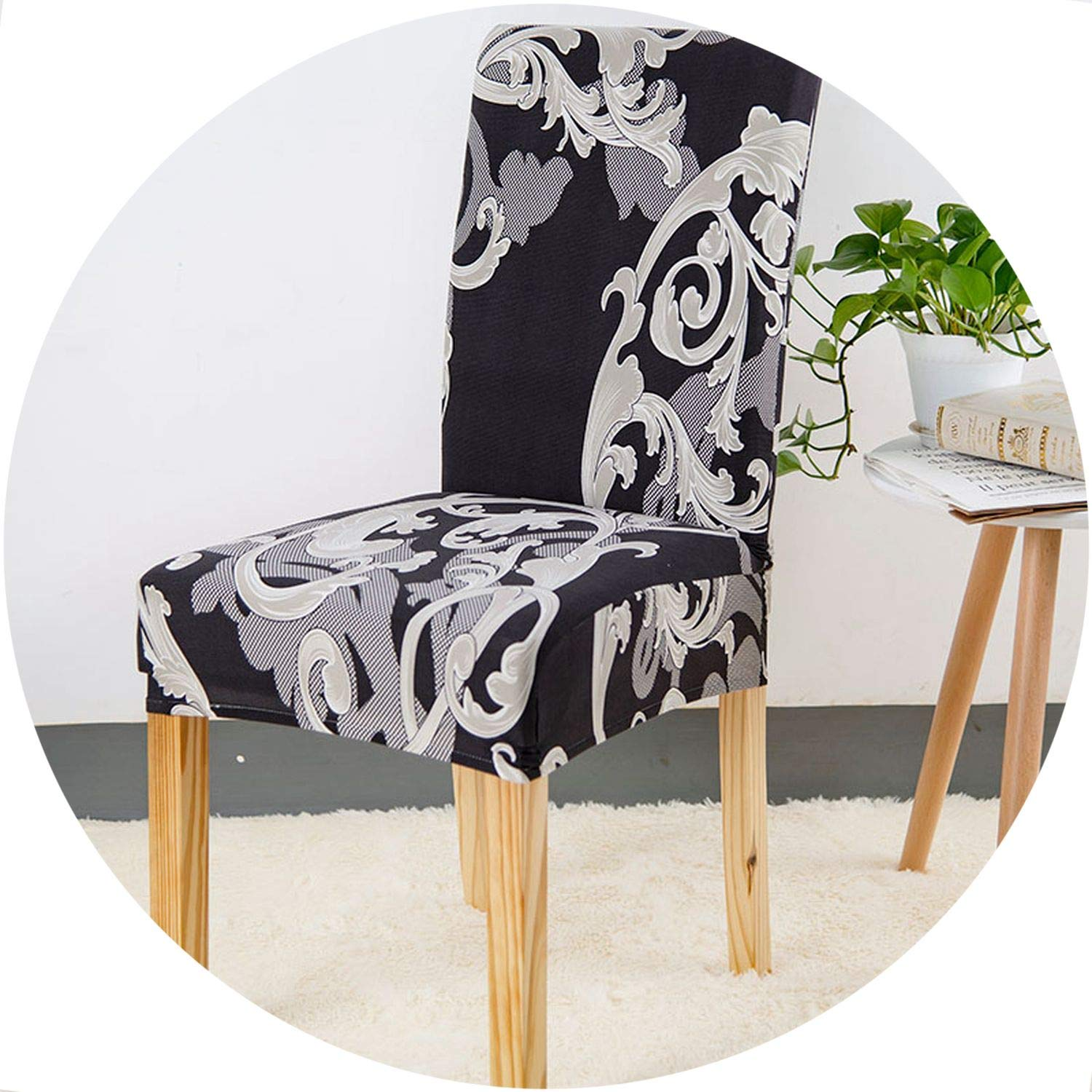 Amazon.com: better-caress Fl Printing Anti-Dirty Stretch Chair ...