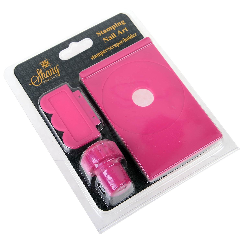 Amazon.com : SHANY Stamping Nail Art Set (Nail Art Image Plate ...