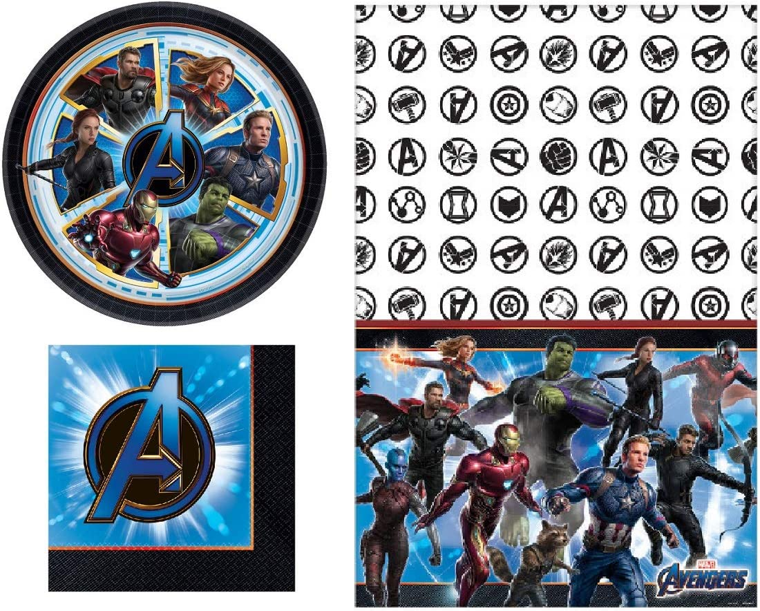 Amscan 16-Piece Avengers Tattoos Multicolored