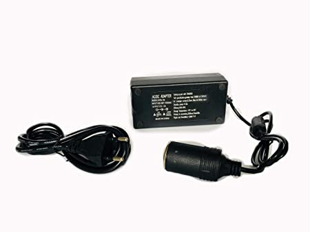 AC Power 110-240 to DC 12 V 5A 60 W Car Auto Inverter Cigarette Lighter Adapter