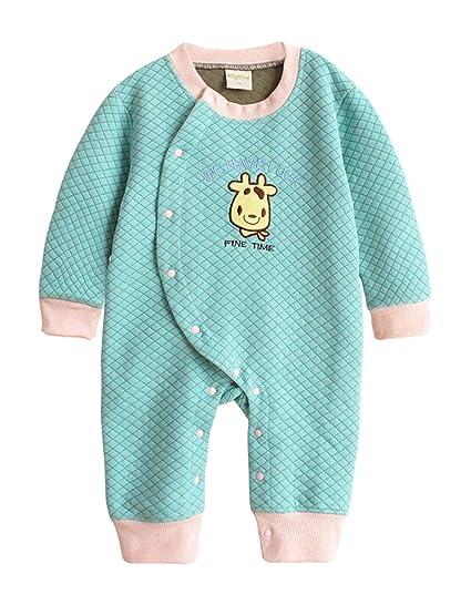 Augelute - Pijama Bebés Recién Nacido Mameluco Traje Mangas Largas ...