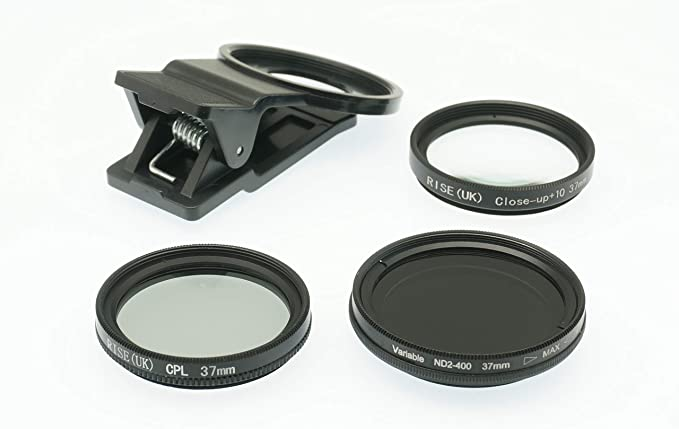 Polarizer Closeup Lens Kit for Samsung Galaxy A20 Gadget Place Variable ND Filter