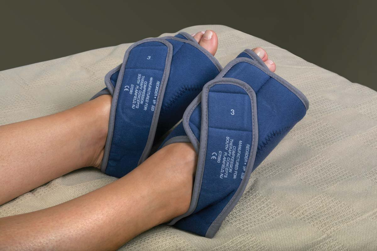 Image of Acupuncture Medline MDS620 Garment, Medline, DVT, Intermittent, Foot, Med (Pack of 10)