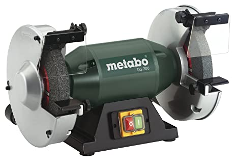 Groovy Metabo 8 Bench Grinder 3 570 Rpm 4 8 Amp 619200420 200 Bench Grinders Machost Co Dining Chair Design Ideas Machostcouk