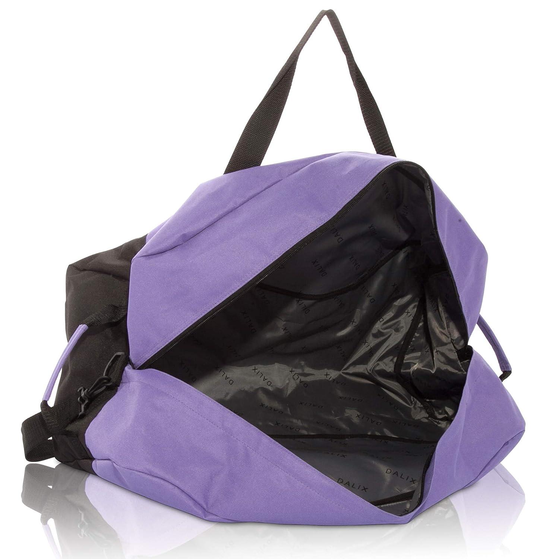 DALIX 25 Big Adventure Large Gym Sports Duffle Bag  (Black Grey Navy Blue  Red b8d0d60eb9e92