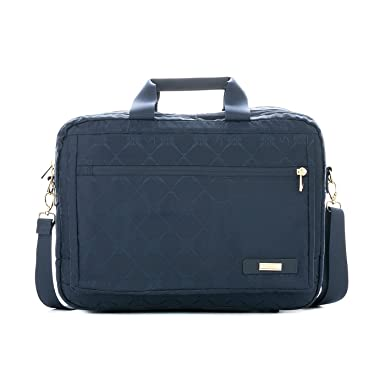 Amazon.com | Velez Women Genuine Leather Business Travel Briefcase Laptop Crossbody Messenger Bag Purse | Maletin y Carteras de Cuero Colombiano para ...