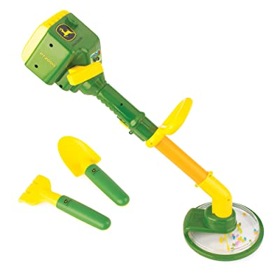 John Deere Weed Trimmer Lawn and Garden Tool Set with Pull String for Kids Outdoor Playtime: Toys & Games