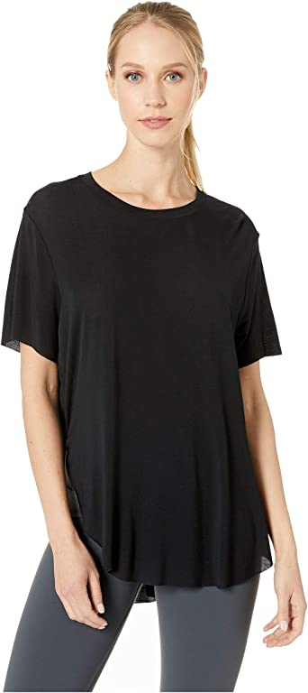 Amazon Com Alo Lithe Tee Clothing