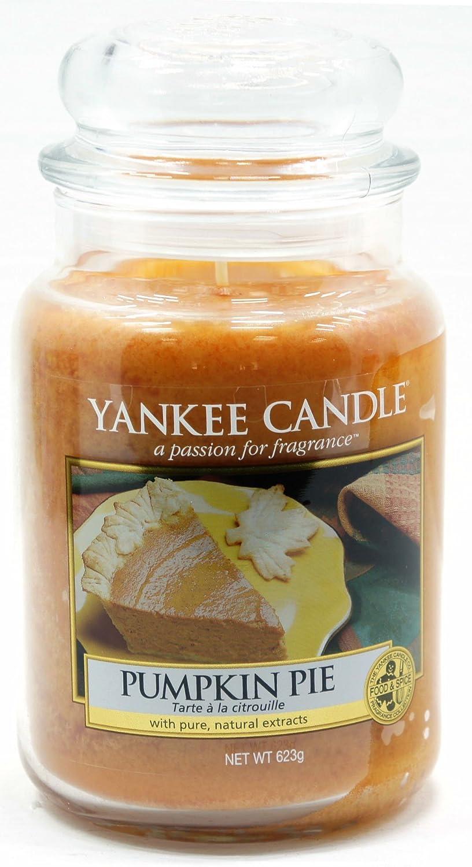 Tarro Grande Yankee Candle Pumpkin Pie Tradicional clásico Firma Comida y Especias 623 g - Caja de Pedido de Correo Seguro: Amazon.es: Hogar