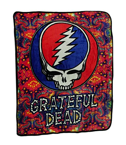 Amazon Ramatex Polyester Throw Blankets Grateful Dead Steal Cool Grateful Dead Throw Blanket