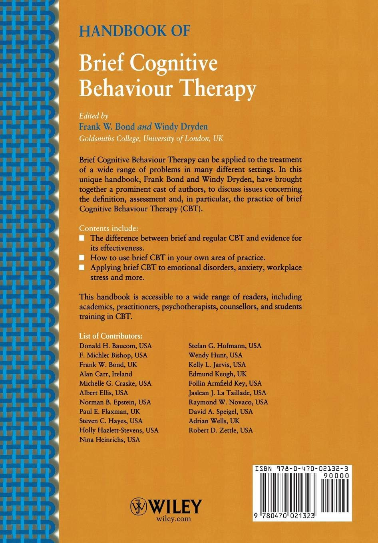 Handbook of Brief Cognitive Behaviour Therapy: Frank W  Bond