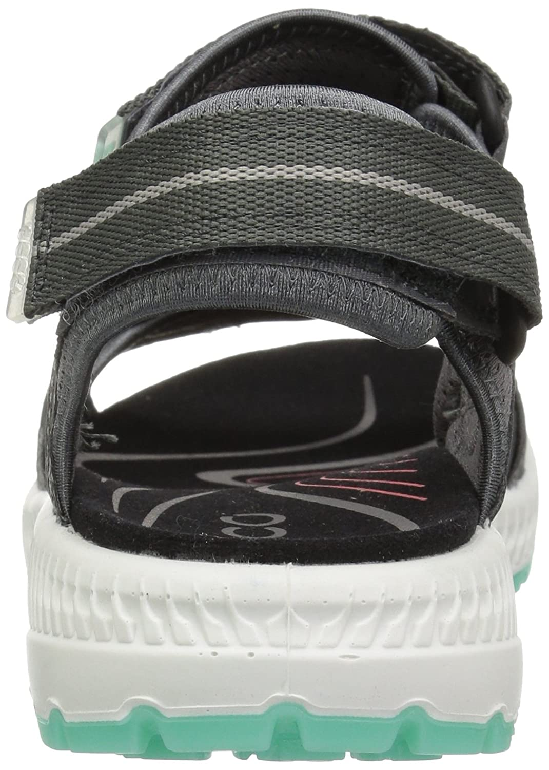 ECCO Women's Terra 3S Athletic Sandal B072BGK8S2 38 EU/7-7.5 M US|Dark Shadow/Emerald