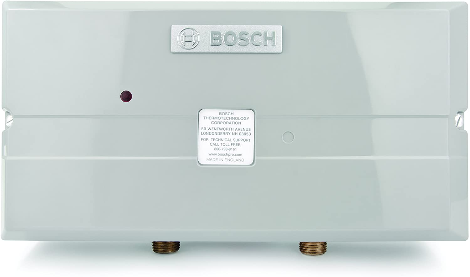 Bosch Electric Tankless Water Heater - Eliminate Time for Hot Water - Easy Installation Image