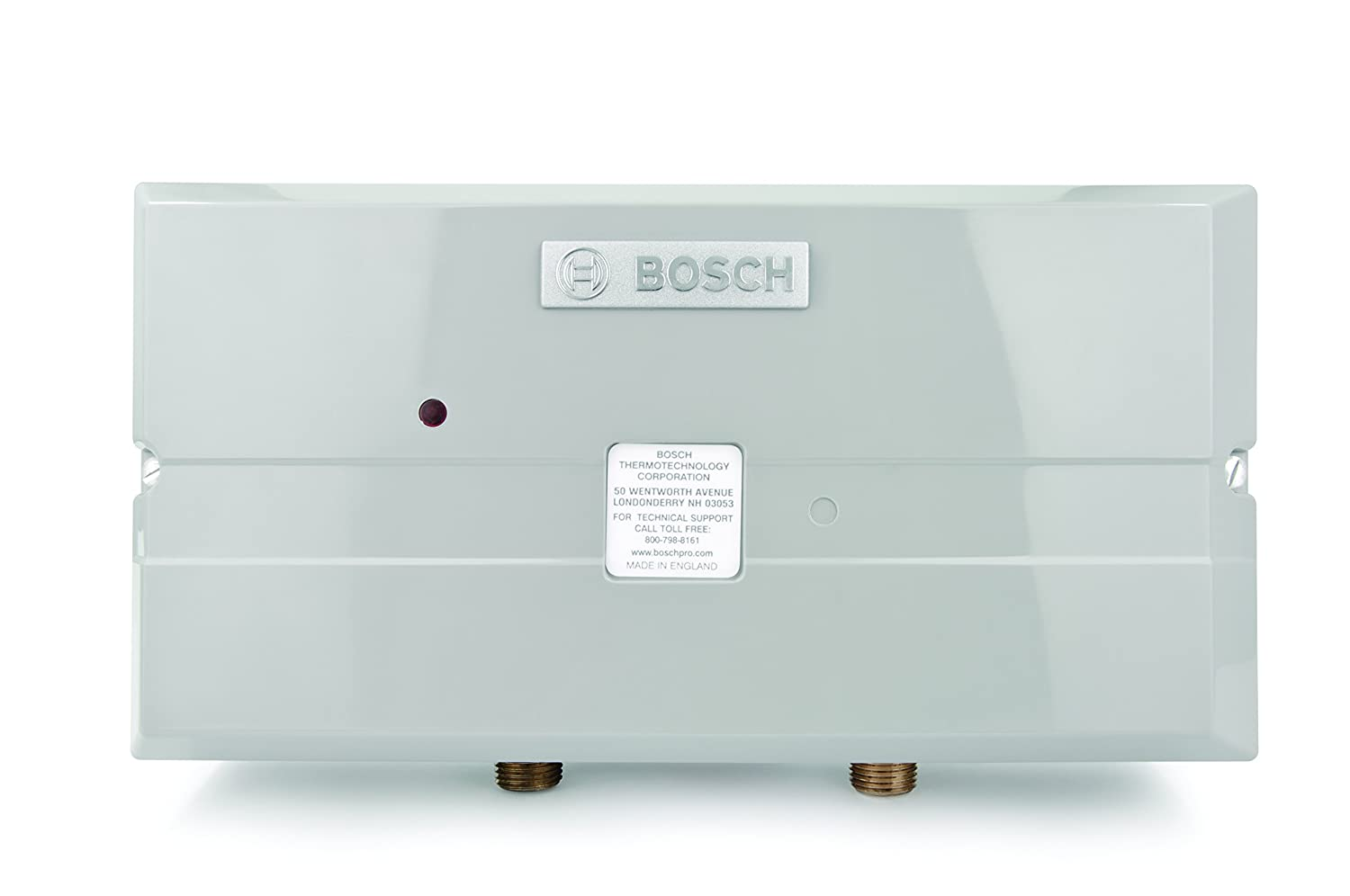 Bosch Electric Tankless Water Heater - Eliminate Time for Hot Water - Easy Installation