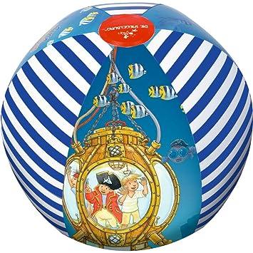 Balón pelota de agua hinchable Captn Sharky Diametro aprox. 33 cm ...