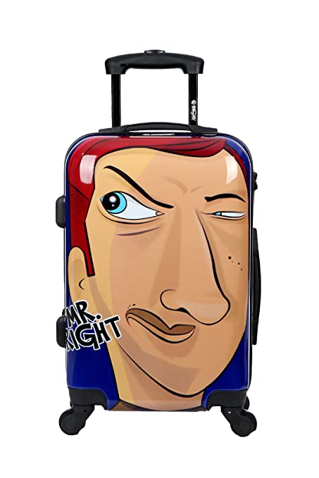 c7df37c5d5004e Cabin Luggage 55x35x20 Suitcase 20 inch in Ryanair Easyjet Approved  Lightweight 4 Wheel Hard Case Kids